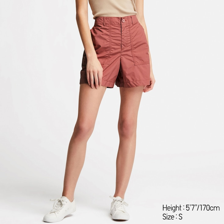 Shorts rosas de Uniqlo