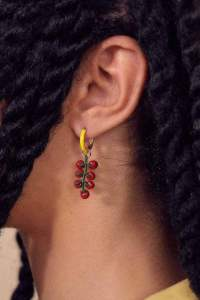 Pendientes tomatera de Repeller del blog de moda Man Repeller