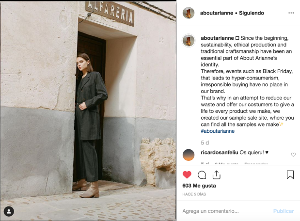 about arianne moda sostenible latesthunting