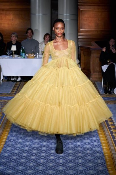 molly godard yellow dress